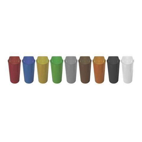 Cesto de Lixo com Tampa Basculante 23l - Kit com 6 unidades - Foto 3
