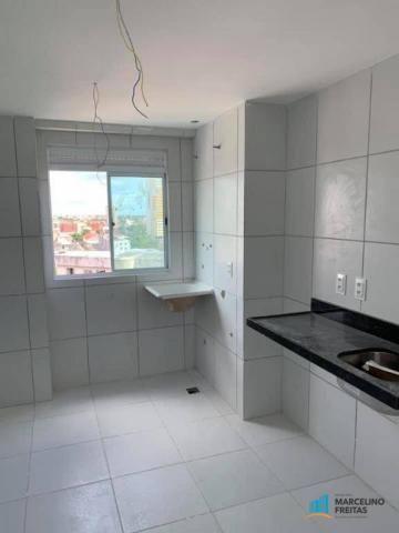 Apartamento com 2 dormitórios à venda, 53 m² por R$ 360.684,20 - Jacarecanga - Fortaleza/C - Foto 6