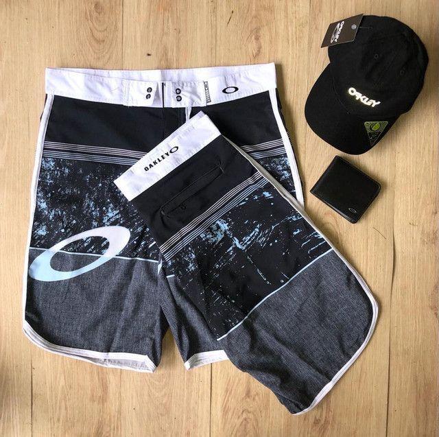 Shorts de praia Nike,hurey e oakley  - Foto 4