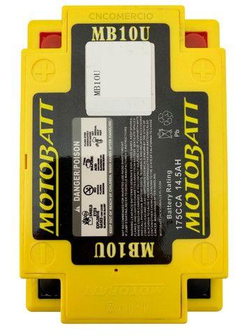 Bateria Motobatt Mb10u Yb10la2 Intruder 250 Gs500 Xv250 Virago 250 95-03 Gsx600f - Foto 2