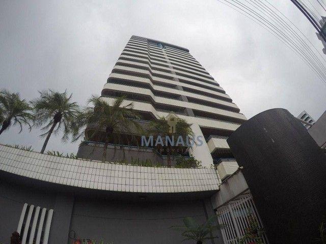 Apartamento com 4 dormitórios para alugar, 186 m² por R$ 3.900/mês - Adrianópolis - Manaus
