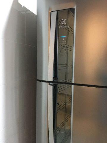 Geladeira Eletrolux INOX  Duplex - Foto 2