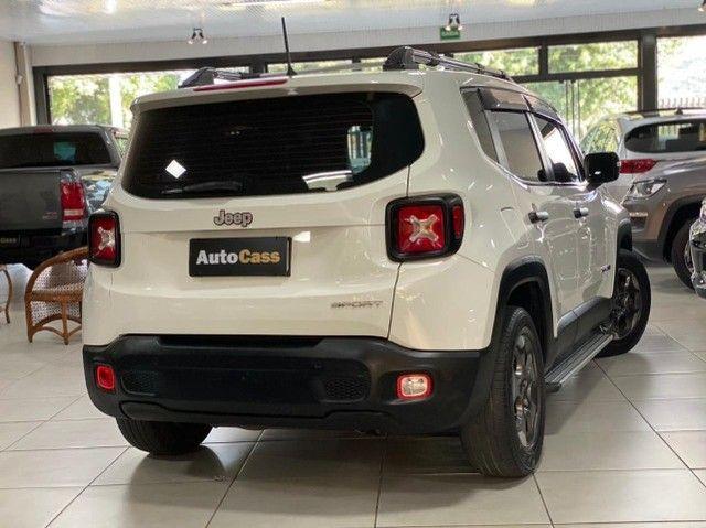 Jeep Renegade 1.8! Sport! Top! Com Acessórios Exclusivos! Raridade! Até 100 % Financiado. - Foto 9