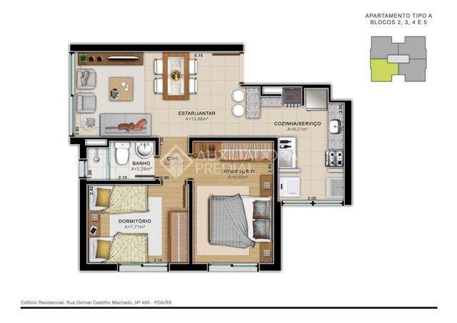 Apartamento à venda com 2 dormitórios em Aberta dos morros, Porto alegre cod:312441 - Foto 15