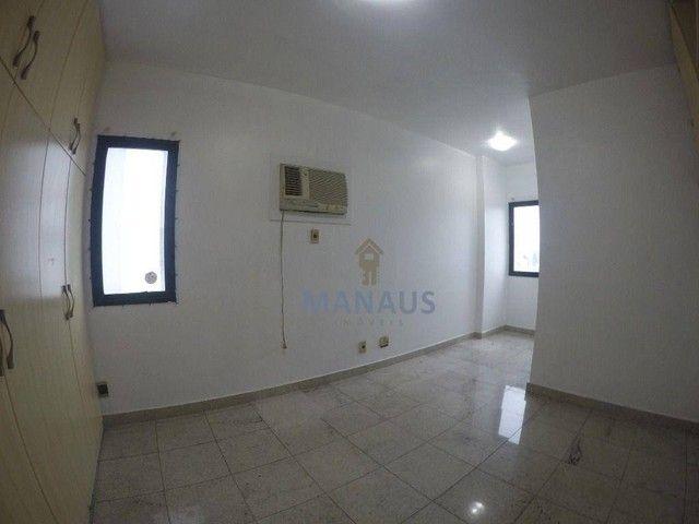 Apartamento com 4 dormitórios para alugar, 186 m² por R$ 3.900/mês - Adrianópolis - Manaus - Foto 17
