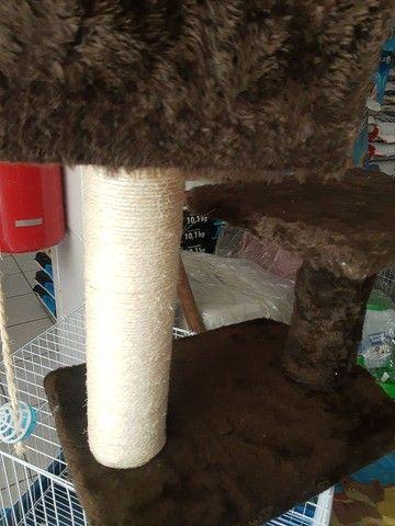Arranhador novo e toca para gatos - Foto 3