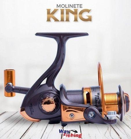 Molinete KING 4000 0.35mm/180m 0.40mm/140m 0.50mm/100m