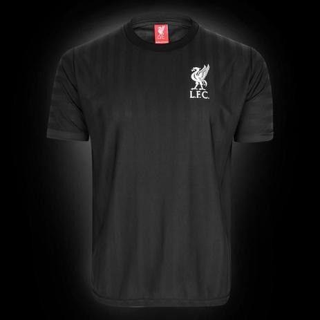Camisa Liverpool All Black 125 Anos Edição Limitada Masculina