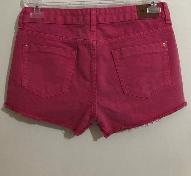 Short jeans rosa - Foto 2