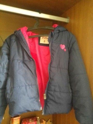 Jaquetas infantil feminina tam 8 e 10