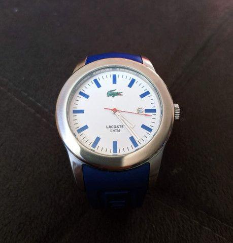 Relógio Lacoste Advantage Azul / Branco - aço inoxidável