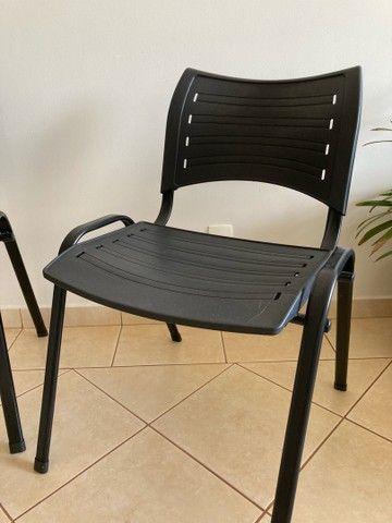 Cadeira escritório preta