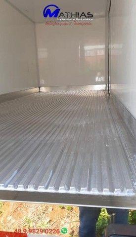 bau termico camara fria carroceria refrigerada novos com garantia e instalados  - Foto 4