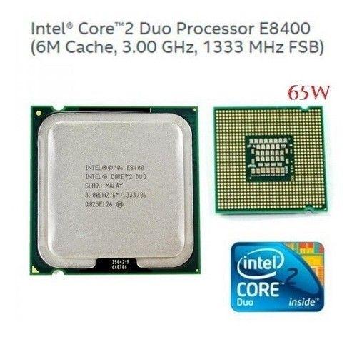 Processador Intel Core 2 Duo E8400 3.0ghz Fsb 1333 Lga 775 - 400 - Foto 2