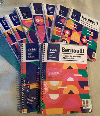 Livros Bernoulli  1° série ensino médio