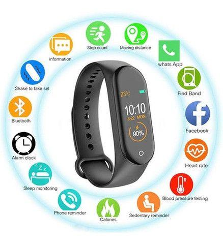 Relogio Smartwatch M4 P/ IPhones e Androids R$89,90 - Foto 2