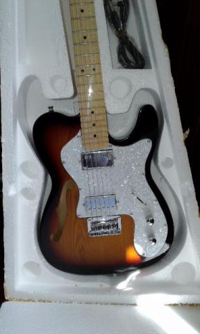 Guitarra Fender Telecaster Custom Chinesa - Foto 2