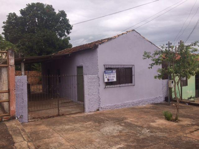 Casa Unifamiliar - vila Aurora - Rondonópolis