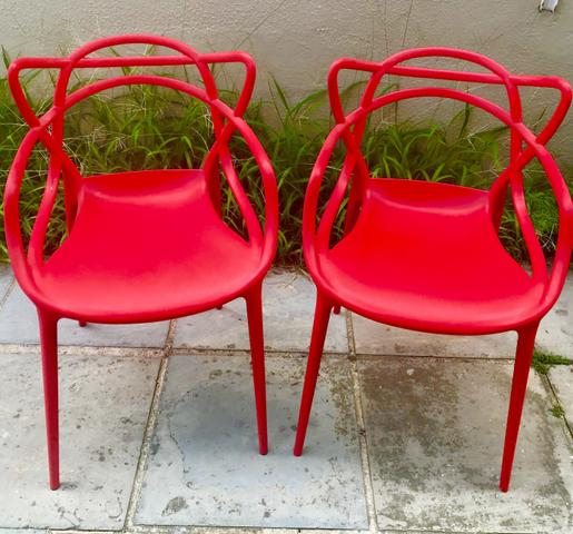 Quatro Lindas Cadeiras Allegra Tramontina