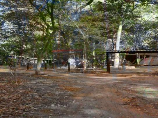 Rancho na beira do Rio Tocantins