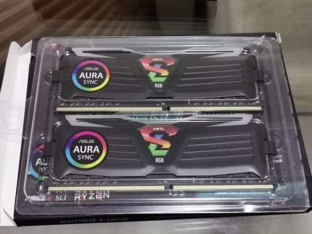 Memória DDR4 Geil Super Luce Rgb 16gb (2x8gb) 3000mhz para Amd Ryzen