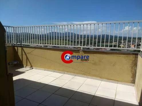 Cobertura com 2 dormitórios à venda, 77 m² - Bonsucesso - Guarulhos/SP - Foto 12