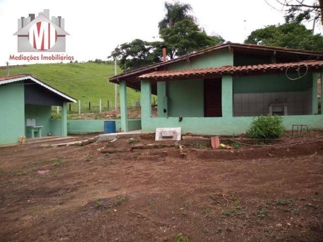 Excelente chácara com 02 casas, terreno plano, 1800 metros, perto do asfalto e linda vista - Foto 14