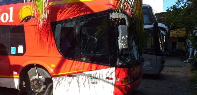 Ônibus DD Scania K113 Impecável - Pronto para viajar e trabalhar! - Foto 4