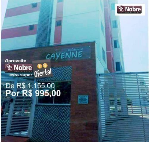 Apartamento com 2 dormitórios para alugar, 70 m² por r$ 995,00/mês - plano diretor sul - p