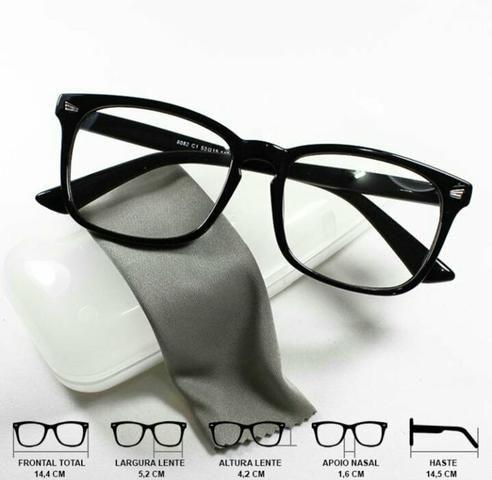c24669ea0 Armação de óculos grau unissex - Bijouterias, relógios e acessórios ...