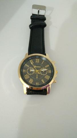 85cc2cfe997 Relógio Feminino Vintage Couro Novo! - Bijouterias