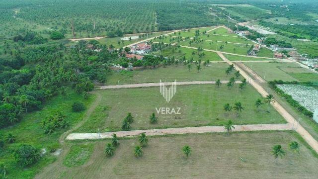 Terreno à venda, 300m² por r$ 22.000,00 - trairi - ceará - trairi/ce