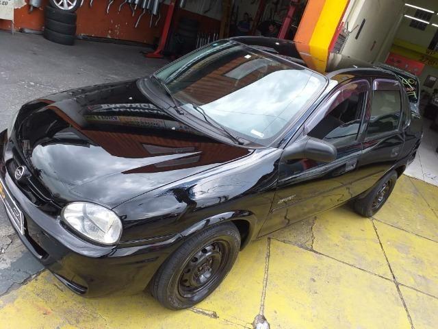Gm - Chevrolet Corsa sedan entrada no cartão ficha pelo whatsap - Foto 10