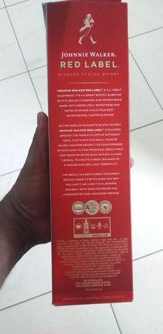 Whisky red label vendo ou troco. - Foto 2