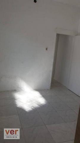 Apartamento com 1 dormitório para alugar, 50 m² por R$ 450,00/mês - Benfica - Fortaleza/CE - Foto 4