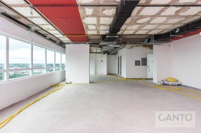 Laje/sala comercial para venda e locação no EuroBusiness, Ecoville, Curitiba - LEED Platin - Foto 20