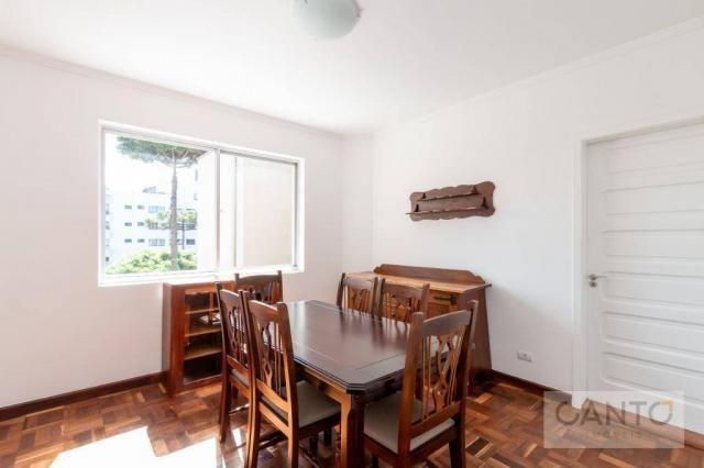 Apartamento com 3 dormitórios para alugar no Batel - condomínio com valor baixo, 96 m² por - Foto 6