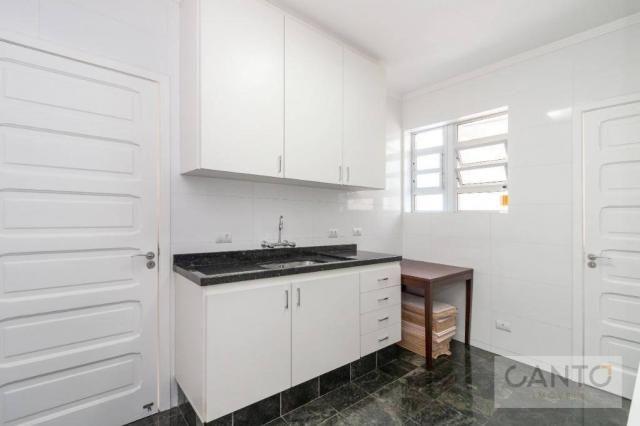 Apartamento com 3 dormitórios para alugar no Batel - condomínio com valor baixo, 96 m² por - Foto 8