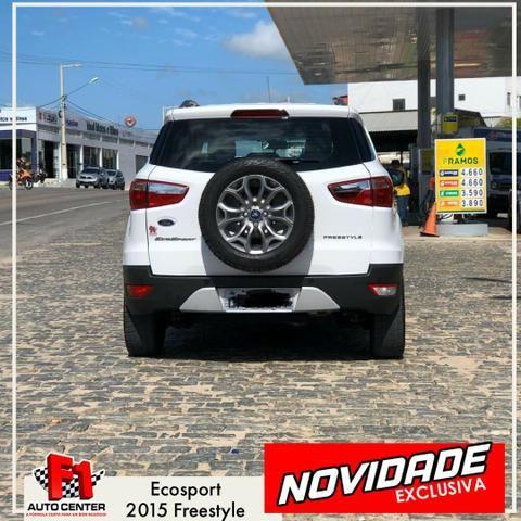 Ecosport Freestyle 2015   Licenciado 2020   F1 Auto Center - Caicó-RN - Foto 6