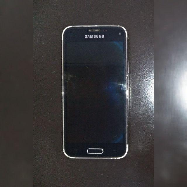 Celular Samsung Galaxy S5 Mini Com 4 Capinhas