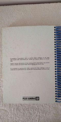 Catálogos ORIGINAIS completos Astra Ômega Silverado Grand Blazer S-10 Vectra - Foto 19