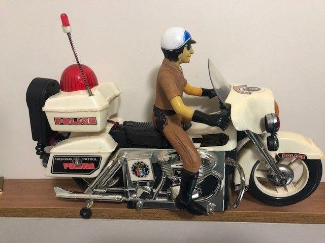 brinquedo motocicleta Patrulheiro Chips