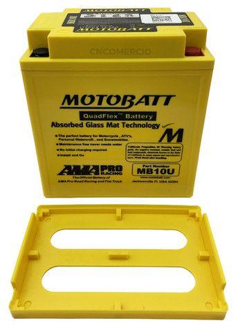 Bateria Motobatt Mb10u Yb10la2 Intruder 250 Gs500 Xv250 Virago 250 95-03 Gsx600f - Foto 4