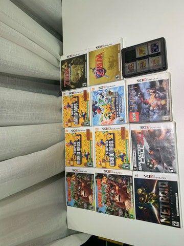 Coleção Nintendo DS e 3DS - Foto 2