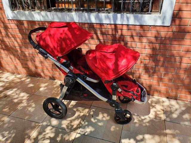 Carrinho duplo Baby Jogger - Foto 4
