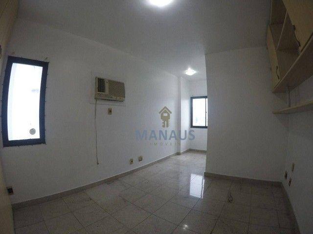 Apartamento com 4 dormitórios para alugar, 186 m² por R$ 3.900/mês - Adrianópolis - Manaus - Foto 14