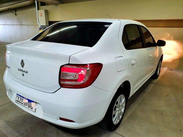 Renault Logan Expression 1.0 12v  Hiflex, 2020 na cor Branca. - Foto 6