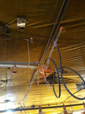 Aviário 12x128 equipamentos silo bebedouro comedouro forno - Foto 6