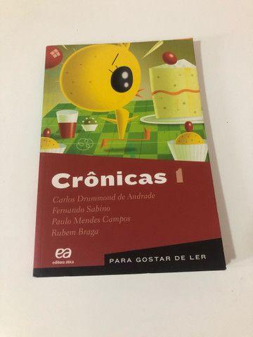Livro paradidático Crônicas 1  - Foto 3