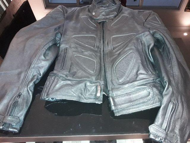 Jaqueta de couro sem uso - Foto 3